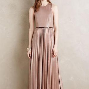 ANTHROPLOGIE Donna Morgan Omri Maxi Dress 8 NWT